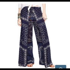 Ralph Lauren Bandana Front Overlay Pants